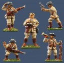 Pulp Figures - German Colonial Officers & NCOs