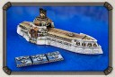Dystopian Wars Russian Coalition Kostroma Carrier farbig