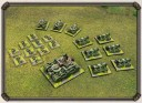 Dystopian Wars Russian Coalition Land Battlegroup farbig
