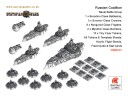 Dystopian Wars Russian Coalition Naval Battlegroup