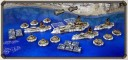 Dystopian Wars Russian Coalition Naval Battlegroup farbig