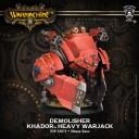 Warmachine - Khador Demolisher Heavy Jack