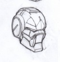 Warpath Enforcer Helm Konzept