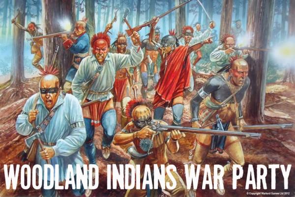 FIW Woodland Indians Artwork