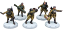 Dust Tactics - SSU Red Guards Command Squad