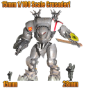 15mm Leviathan Crusader
