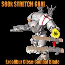 Leviathan Excalibur Blade Stretch Goal