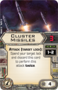 X-Wing Tie Advanced Expansion Cluster Missiles