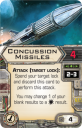 X-Wing Tie Advanced Expansion Concussion Missiles