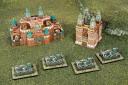 Dystopian Wars Russian Coalition fortifications
