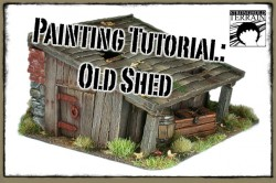 Old Shed Tutorial