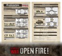 Flames of War Open Fire Armeeplan 2