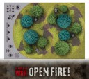 Flames of War Open Fire Geländemarker 3