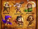 Classic Dungeon Adventurers Miniature Set