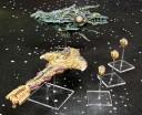 Infected Battleship, Oroshan Armageddon Class Dreadnought, Slayer Class Frigate