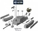 Bolt Action - Jagdpanther Diagramm
