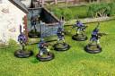 Legions Ashigaru Infantry in action