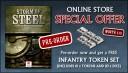 Storm of Steel Infanterie Token Set