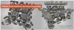 Castle Kickstarter Explosionszeichnung