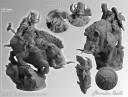 Dwarf of Chaos on War Boar 54mm