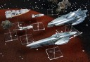 Firestorm Armada Syndicate Ships Battleship und Heavy Cruiser