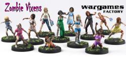 Fantasyladen Zombie Vixens Weihnachtswoche klein