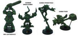The secret weapons Halloween-Carnival miniatures for fantasy football 2