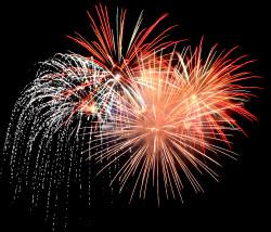 Silvester Feuerwerk Brückenkopf Rike, Pixelio