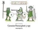Warlord Games - Caesarian Roman Plastic 3-Ups