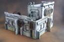 Miniature Scenery Sci-Fi Gebäude lasercut