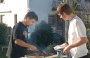 Hobbykeller Grillen bei Burkhard