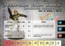 Sedition Wars Kara Profilkarte