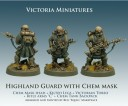 Victoria Miniatures - Highland Guard with Chem Mask