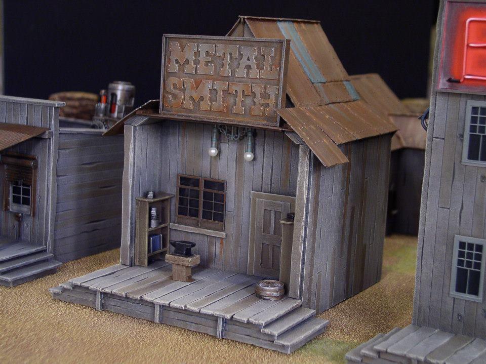 Wild West Exodus Mehr Bilder Vom Spieltisch Br 252 Ckenkopf