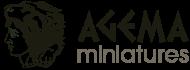 logo agema miniatures