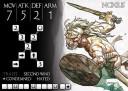 Arena Rex Spielkarte Prototyp