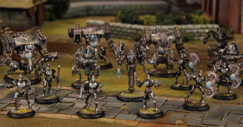 MAXXEVS BLOG Warmachine Convergence Of Cyriss New Faction