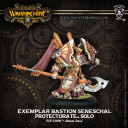 Exemplar Bastion Seneschall Menoth Warmachine