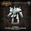 Privateer Press Warmachine Light Warjack Plastic Chimera