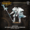 Privateer Press Warmachine Light Warjack Plastic Griffon