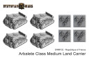 Dystopian Wars Armoured Clash France Arbalete
