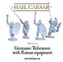 Germanen mit römischen Waffen