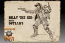 Wild West Exodus Kickstarter Billy the Kid