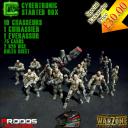 Warzone Resurrection Kickstarter Cybertronic Starter