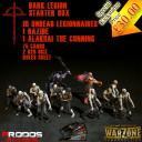 Warzone Resurrection Kickstarter Dark Legion Starter