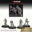 Warzone Resurrection Kickstarter Modelle Preview