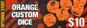 Zombicide Season 2 Kickstarter Material Orangene Würfel