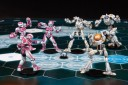 Dreadball Chronium Chargers gegen Void Sirens