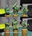 Greens Menschen Ritter Narr Mönch