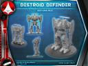 Robotech Destroid Defender